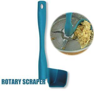 SPATULE - MARYSE Rotation Grattoir Spatule Rotative Outil De Traite