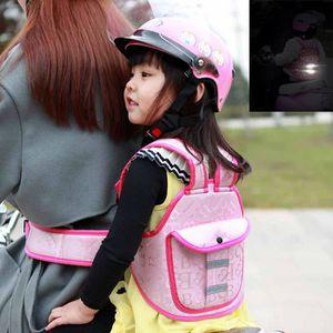 Enfant Harnais de sécurité moto Siège Sangle de Support Arrière Ceinture De Protection GEAR