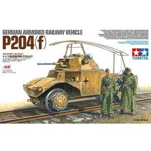 VOITURE À CONSTRUIRE Maquette Train German Armored Railway Vehicle P204