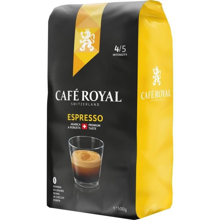 CAFE ROYAL en grain Espresso - 500 g