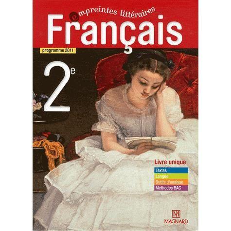 Francais 2e Empreintes Litteraires
