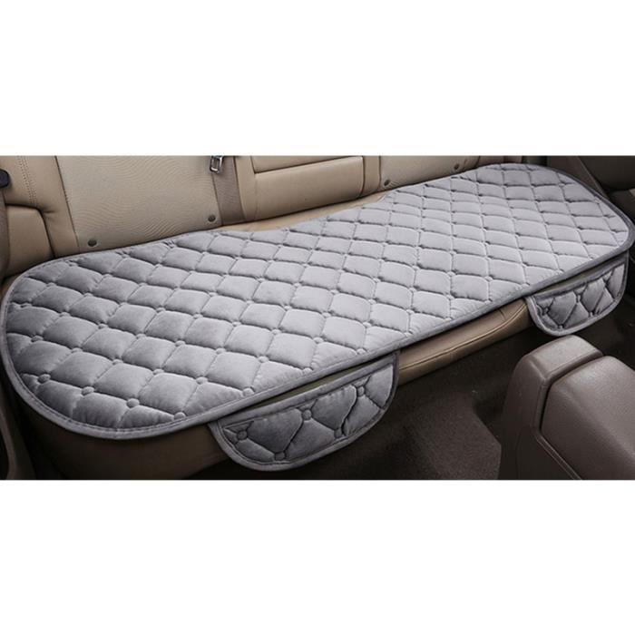 HOUSSE DE SIEGE - COUVRE SIEGE Housse de siège de voiture coussin de siège de voiture gris soie velours tapis éponge décor de