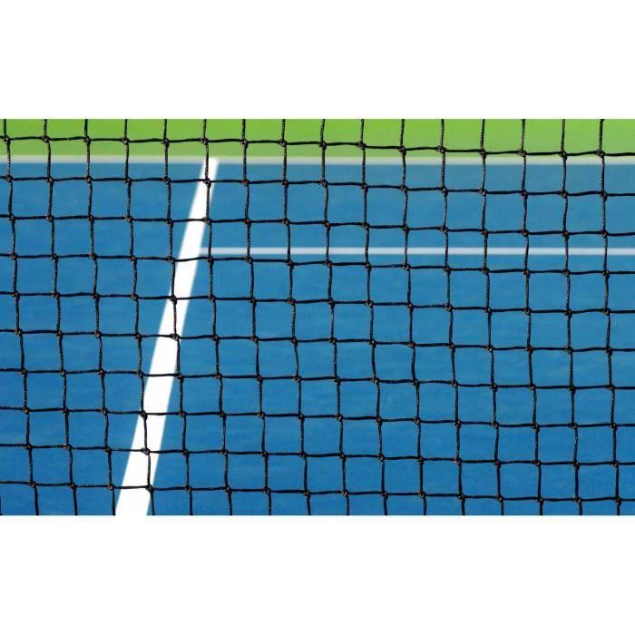 Filet de tennis pour terrain de simple