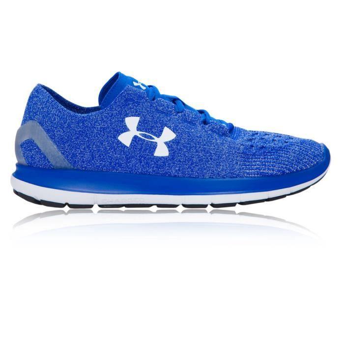 Under Armour Speedform Slingride Baskets Chaussures De Course Running Blue Homme