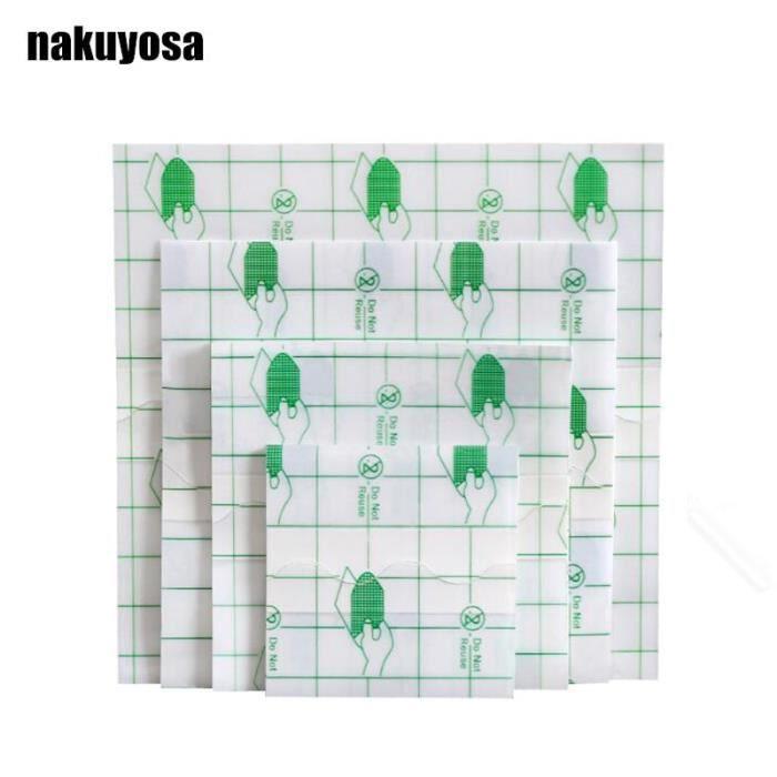 PROTEGE-CHEVILLES - CHEVILLERE,100 pièces adhésif plâtre étanche Transparent adhésif Fixation bande Bandage - Type 8CMx10CM