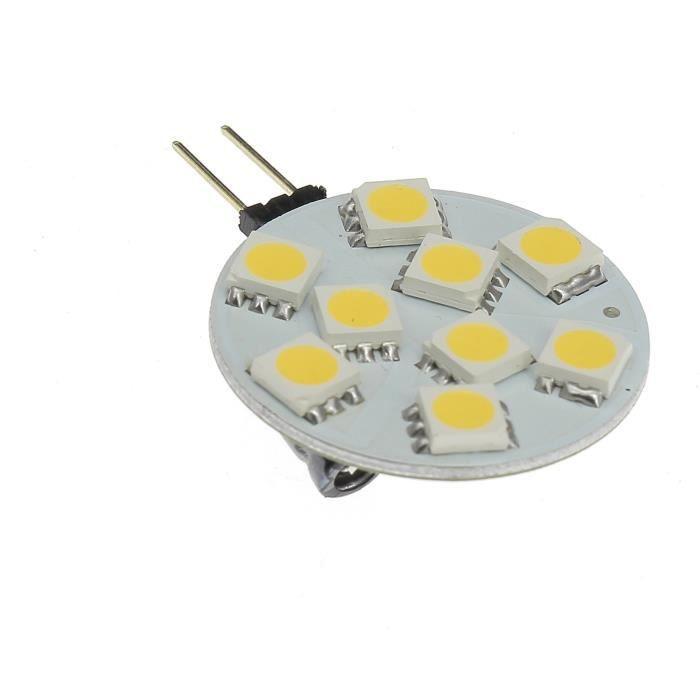ELEKTRON Ampoule G4 LED SMD - Sortie latérale - 100 lumens
