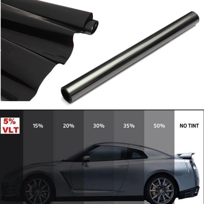 Variance Auto Films Teint/és pour Auto Kit Complet Black 20 Noir