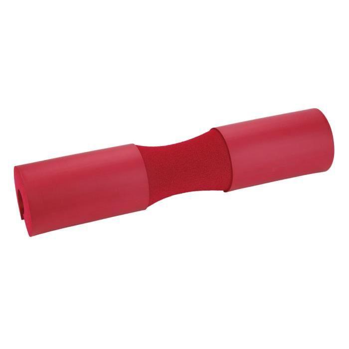 Barbell Squat Pad Neck Épaule Protecteur d'haltérophilie (Rouge)