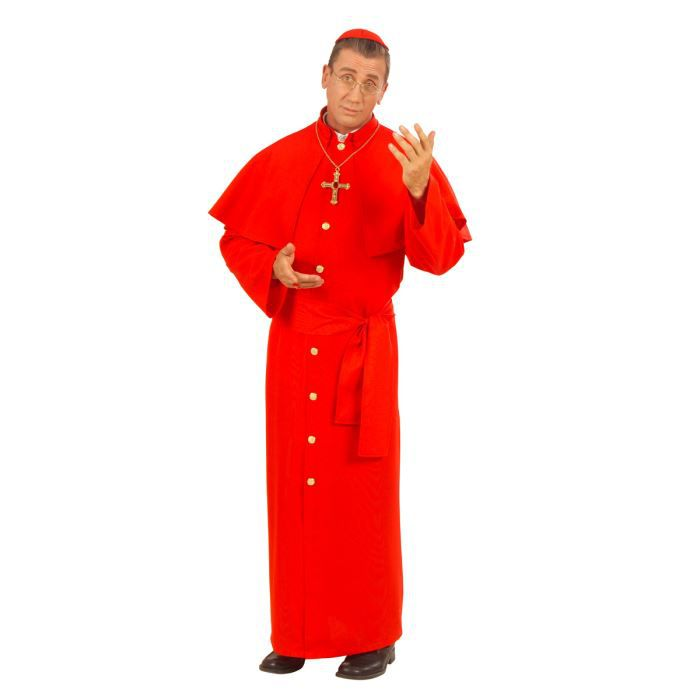 Déguisement cardinal adulte l
