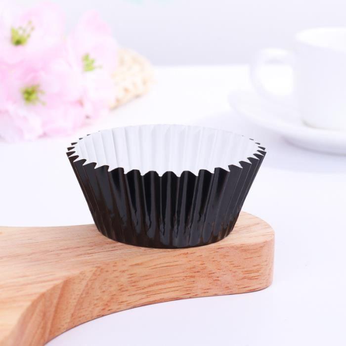 100 pièces Non toxique épaissi mignon Cupcake doublures moule feuille d'aluminium tasses gâteau papier cuisson GATEAU PATISSIER