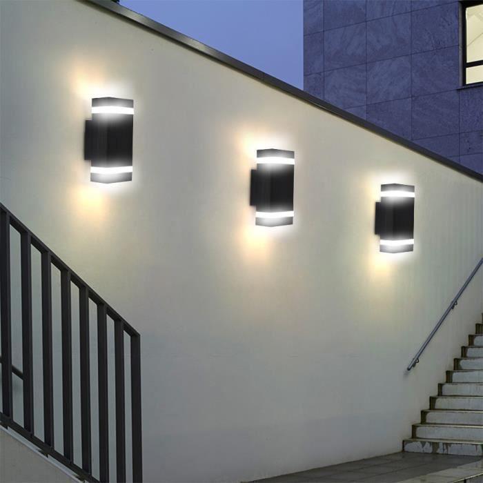 1pc Double Up and Down Applique Murale Intérieur Extérieur Maison Chambre Décor Lampe LED Ampoules Inclus HB007 -GAR #153