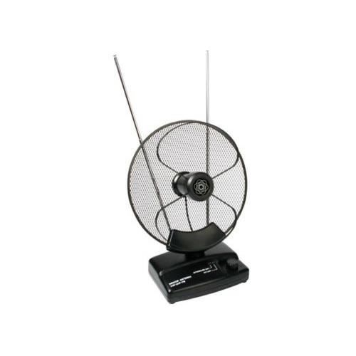 Antenne active parabolique tv tele television interieur for Antenne parabolique interieur