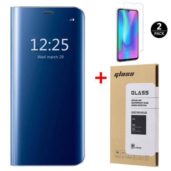 Coque Huawei P Smart 2019 [2 Pack] Verre trempé,