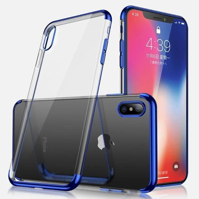 coque iphone xs max fine silicone
