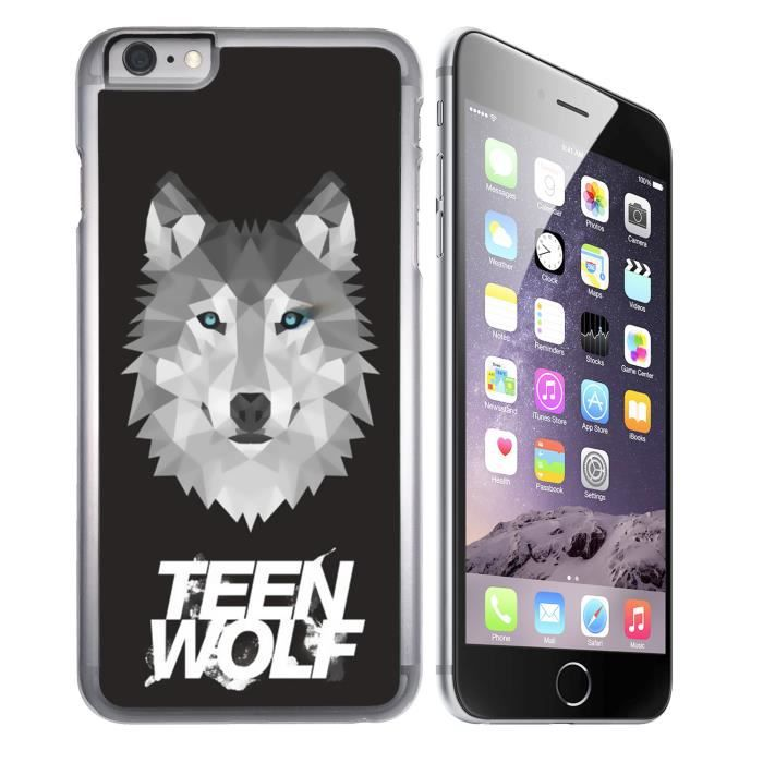 coque iphone 8 teen wolf loup origami
