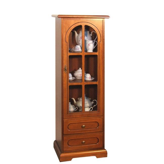 meuble vitrine 1 porte 2 tiroirs achat vente vitrine argentier vitrine 1 porte 2 tiroirs. Black Bedroom Furniture Sets. Home Design Ideas