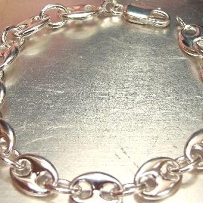 bracelet argent femme graine de cafe