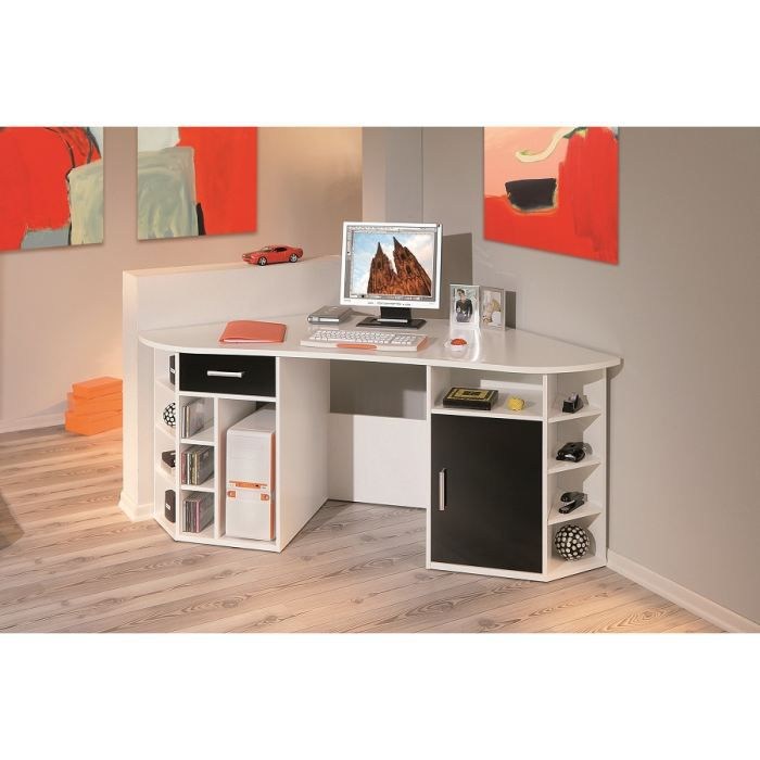 bureau d 39 angle achat vente bureau bureau d 39 angle bois. Black Bedroom Furniture Sets. Home Design Ideas