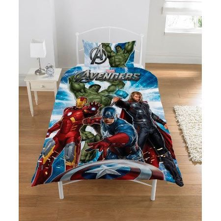 avengers parure housse de couette taie achat vente. Black Bedroom Furniture Sets. Home Design Ideas