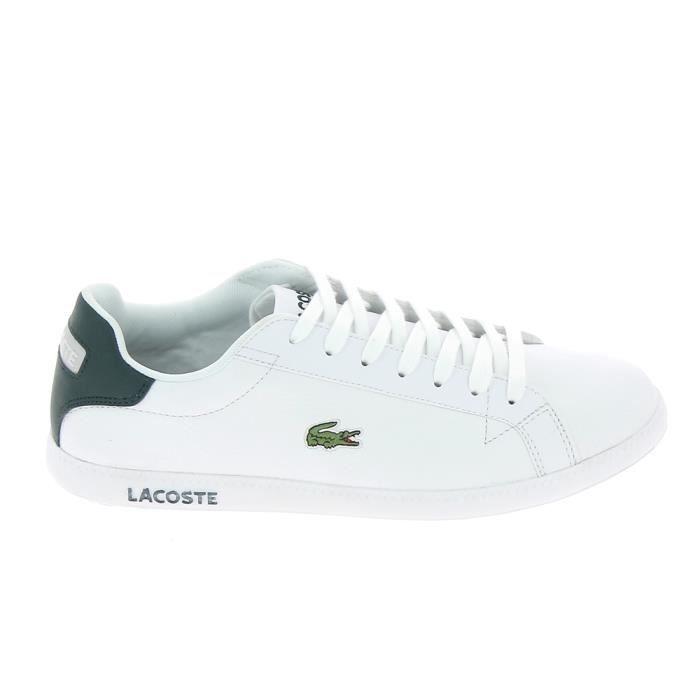 Basket mode - Sneakers LACOSTE Graduate LCR3 118 Blanc Blanc