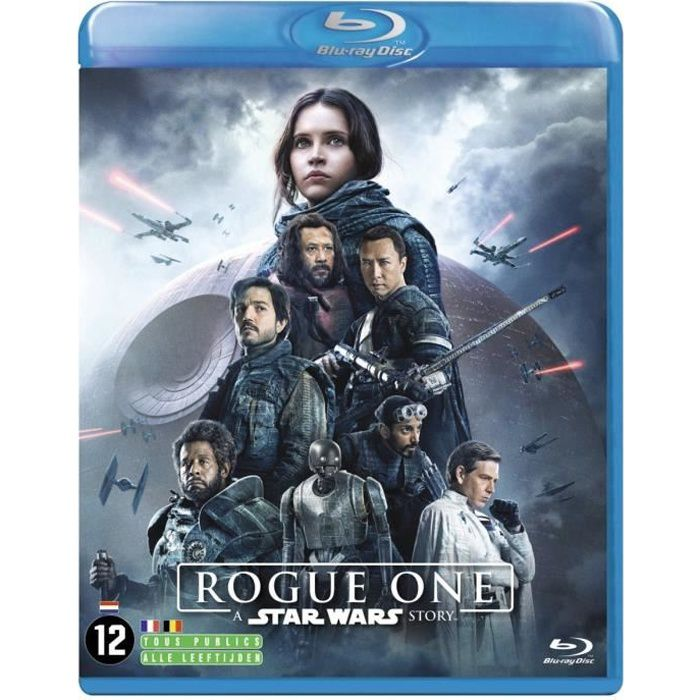 BLU-RAY FILM rogue one star wars 2017 blu ray