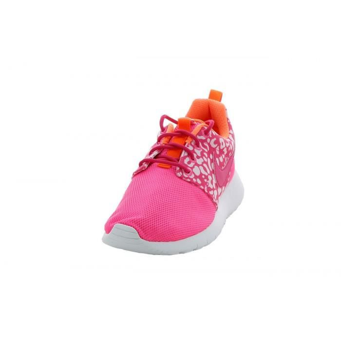 Basket Nike Roshe Run Print (GS) - 677784-603