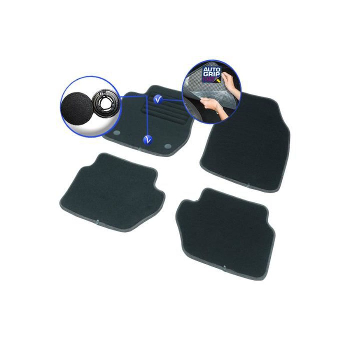 tapis voiture sur mesure elite ford c max de 01 2013 2017 achat vente tapis de sol. Black Bedroom Furniture Sets. Home Design Ideas