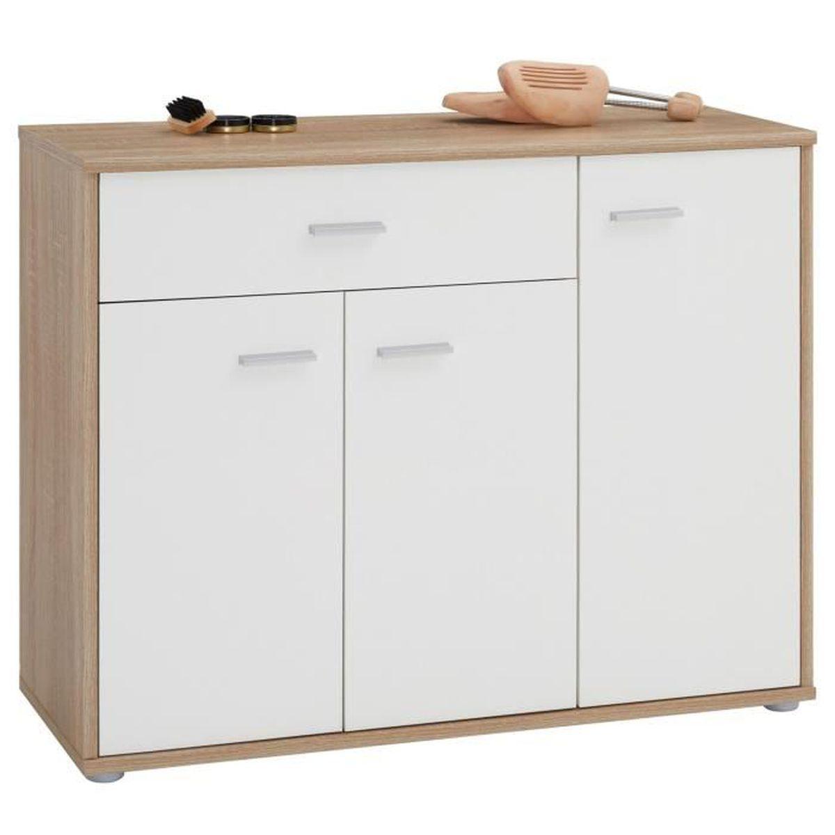 Porte Chaussure Derriere Porte meuble à chaussures camille, commode meuble de rangement
