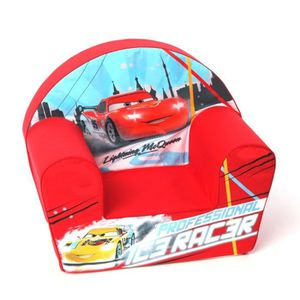 DISNEY Cars Fauteuil Club Mcqueen Ice Racer