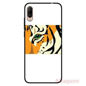COQUE - BUMPER Coque pour Wiko View3 Lite Smartphone Yeux de tigr