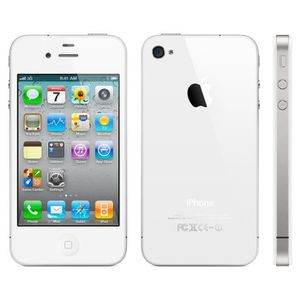SMARTPHONE RECOND. iphone 4s blanc 16giga