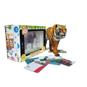 JEU D'APPRENTISSAGE Experience Scientifique TAVOF Pocket Zoo 4d Jeux é