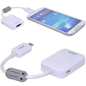 CÂBLE TV - VIDÉO - SON Pour Samsung Galaxy Note S3 S5 Câble adaptateur 2