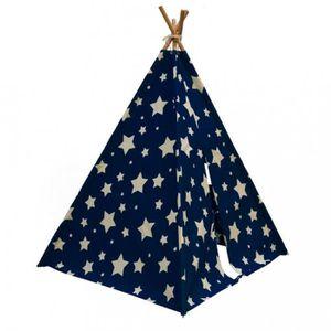 TENTE TUNNEL D'ACTIVITÉ P12 SUNNY Tente Cosmo brillant la nuit Bleu fonce