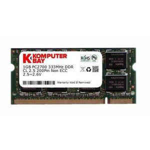 MÉMOIRE RAM Komputerbay 1Go DDR (200 broches) 333Mhz DDR333 PC