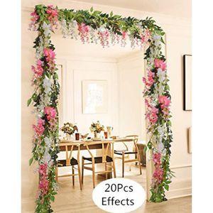JNCH 50pcs Rose Artificielle Capitules Tete Fleur Faux Plante Artificielle Decoration pour Maison Mariage F/ête