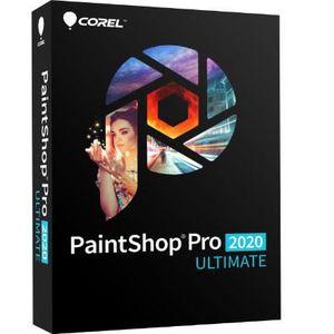 BUREAUTIQUE Corel PaintShop Pro 2020 Ultimate - Logiciel de re