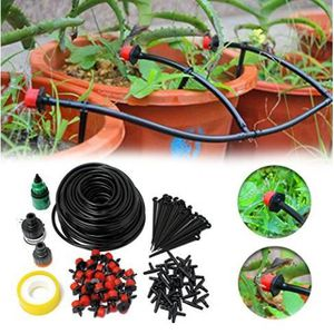 KIT COMPLET D ARROSAGE Dotopon Kit De 350m Réglable Irrigation Goutte à G fe2cf765aa04