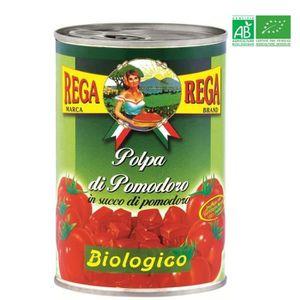TOMATE REGA Tomates Concassées Bio 400g