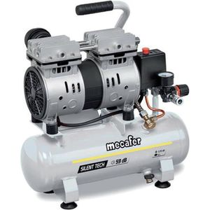 COMPRESSEUR MECAFER Compresseur silencieux - 425513 - 6L  - 0,