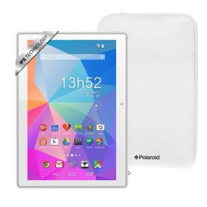 TABLETTE TACTILE POLAROID Pack Tablette Tactile Pure 10,1'' IPS + H