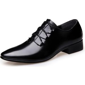 Moodeng Hommes Oxford Derby Casual Classic Modern Dress Chaussures Business Lace Loafers Respirant