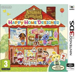 JEU 3DS Nintendo 3DS Animal Crossing: Happy Home Designer