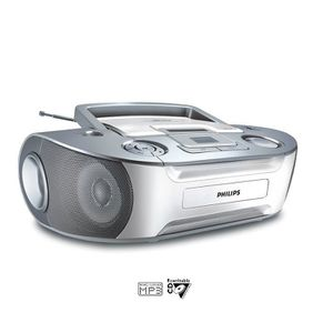 Radio Lecteur K7 CD et MP3 PHILIPS AZ1133 GRIS