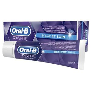 DENTIFRICE ORAL-B Dentifrice 3D WHITE LUXE Éclat & Soin 75ML