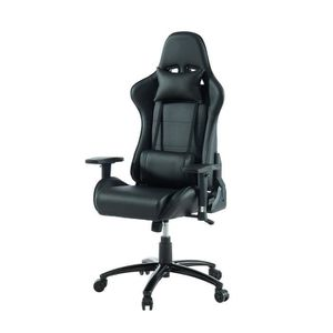 CHAISE DE BUREAU BLACK VIPER Fauteuil Gaming inclinable - Simili No