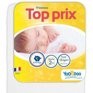 MATELAS BÉBÉ YOOPIDOO Matelas bébé Top prix - Confortable - Fab