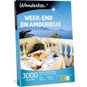 COFFRET SÉJOUR Wonderbox - Coffret cadeau pour couple - Week-end