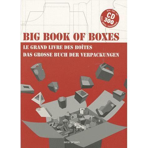 LIVRE LOISIRS CRÉATIFS Big book of boxes