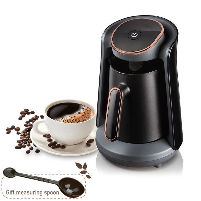 800W automatique turc cafetière Machine sans fil électrique cafetière de qualité alimentaire Moka café bouilloire pour cadeau 220V